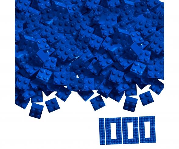 Blox 1000 blue 4 pin Bricks Loose