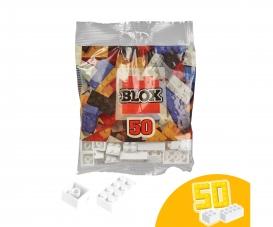 Blox 50 weiße Steine im Folienbeutel