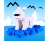Blox 50 white Bricks in Foilbag