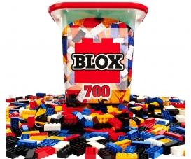 Blox - 700 Bausteine bunt - incl. Box - kompatibel mit bekannten Spielsteinen