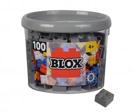 Blox 100 grey 4 pin Bricks in Box