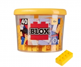 Blox 40 yellow Bricks in Box