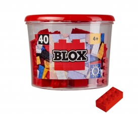 Blox 40 red Bricks in Box