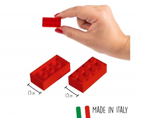 Blox 40 red Bricks in Box