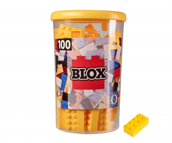 Blox 100 yellow Bricks in Box