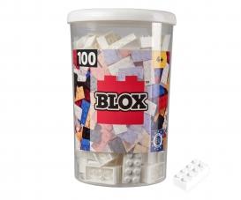 Blox 100 white Bricks in Box