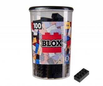 Blox 100 black Bricks in Box