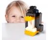 Blox - 100 8er Bausteine schwarz - kompatibel mit bekannten Spielsteinen