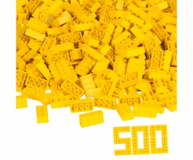 Blox 500 yellow 8 pin Bricks loose