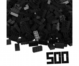 Blox 500 black 8 pin Bricks Loose