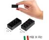 Blox 500 black 8 pin Bricks Loose