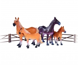 Horse Set with Fenches