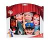 Guignols - Set De 6 Marionettes