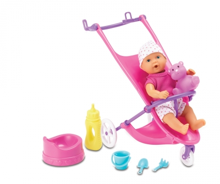 Mini New Born Baby Buggy Set