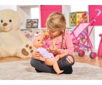 New Born Baby Baby Doll, Pink Accessories