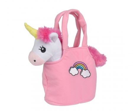 Steffi LOVE Girls Unicorn in Bag