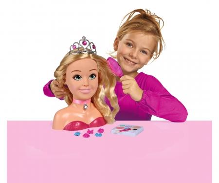Steffi LOVE Girls Prinzessin Schmink-& Frisierkopf