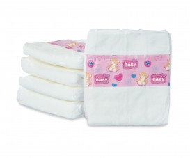 New Born Baby 5 Diapers