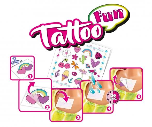 Steffi LOVE Tattoo Fun