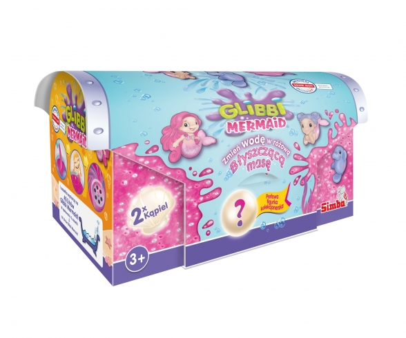 Glibbi Mermaid Glitter Bath