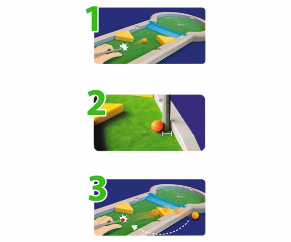 G&M Pitpat Minigolf Tableversion