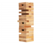 Games & More Wackelturm Holz