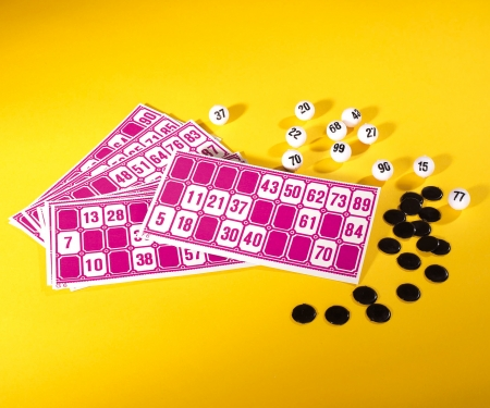 Games & More Bingo Lottery Game