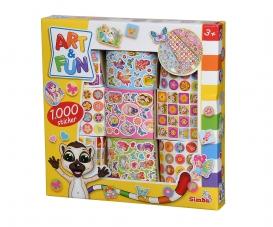 A&F 1.000 Mädchen Sticker