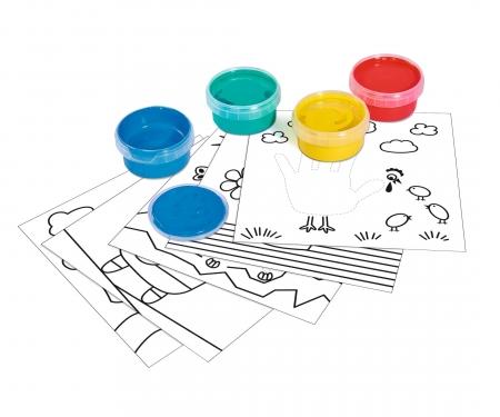 Art & Fun Malen mit Fingermalfarben