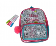 Color Me Mine Glitter Couture Back Pack