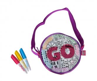 Color Me Mine Swap Round Bag