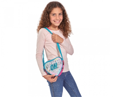 Color Me Mine Swap Heart Bag