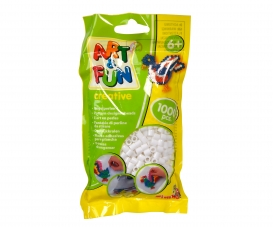 Art & Fun 1.000 Ironing Beads in Bag white
