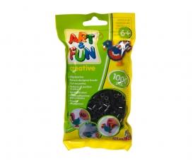 Art & Fun 1.000 Ironing Beads in Bag black