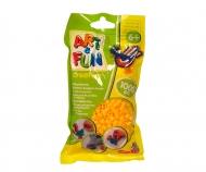 Art & Fun 1.000 Bügelperlen im Beutel gelb