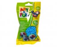 Art & Fun 1.000 Bügelperlen im Beutel blau