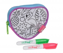 Color Me Mine Fantasy Heart Purse