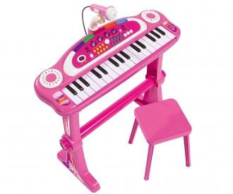 My Music World Girls Clavier sur pied