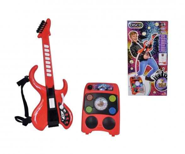 My Music World Disco Gitarre mit Verstärker