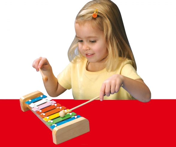 My Music World Wooden Xylophone