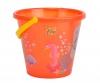 Sand Bucket transparent, 4-ass.