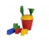 Castle Bucket Set, 3-ass.