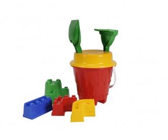 Burgen-Eimergarnitur (3 Farben)