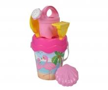 Flamingo Baby Bucket Set