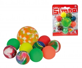 Balles rebondissantes Set 10 pcs.