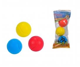 Softball - Balle Douce (3 pcs - 7 cm)