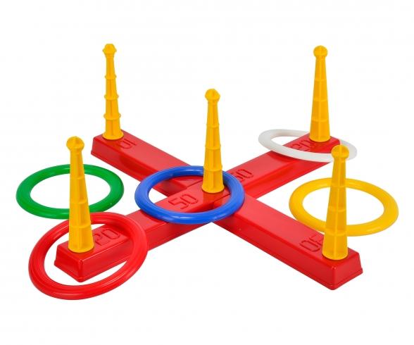 Ring Pitching Game Cross