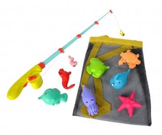 Grand jeu de pêche magnétique