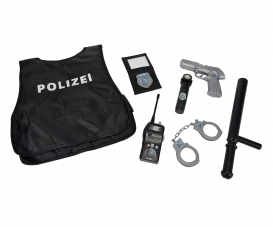 Polizei Einsatz-Set