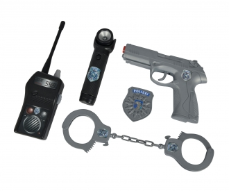 Polizei Ausrüstung im Koffer